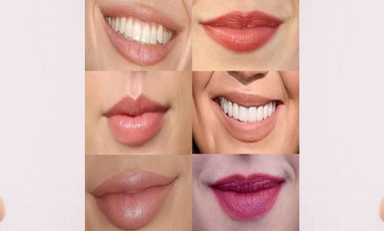 Application Of Lipstick On Different Lip Shapes
