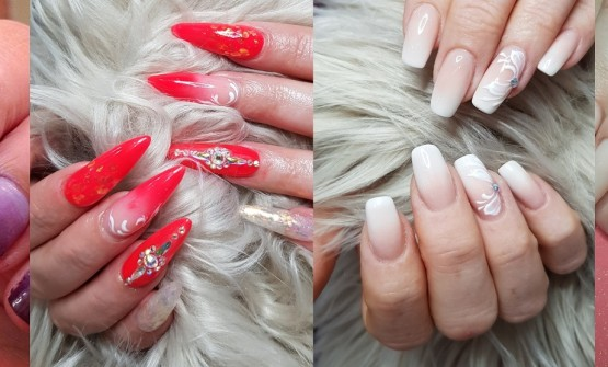 Ombre Nails- Blending Of Different Colors.