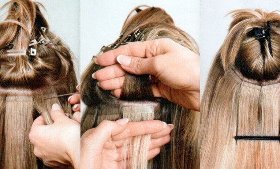 Points to be check for Tape in hair extensions